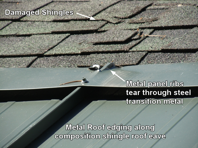 Does Metal Edging On Roofs Stop Ice Dams Here The Real