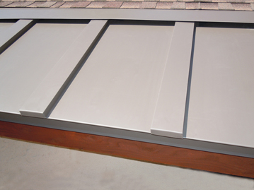 Heated Standing Seam Metal Roofing-359