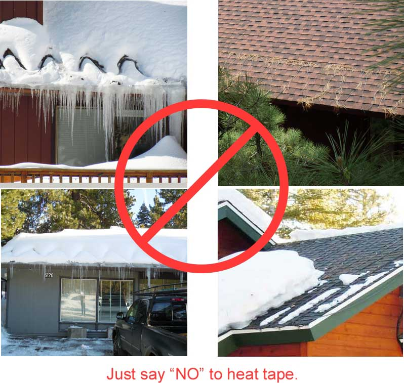 Say No To Heat Tape Summit Ice Melt Systems Summit Ice Melt Systems