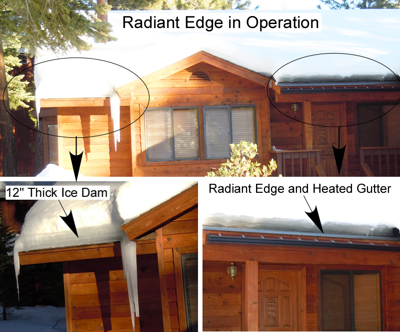 Radiant Edge Pro In Operation Summit Ice Melt Systems