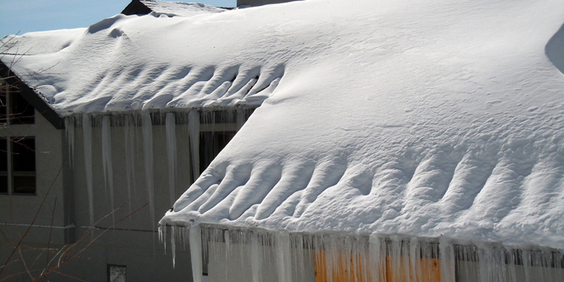 Radiant Edge Roof Ice Melt System Is Maintenance Free.