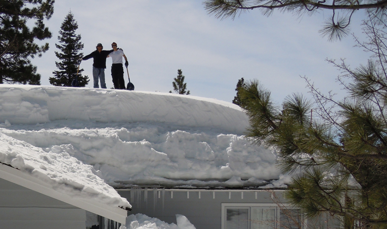 Stop Ice Dams By Shoveling A Temporary Fix Only And Real