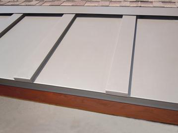 Heated Standing Seam Metal Roofing-359
