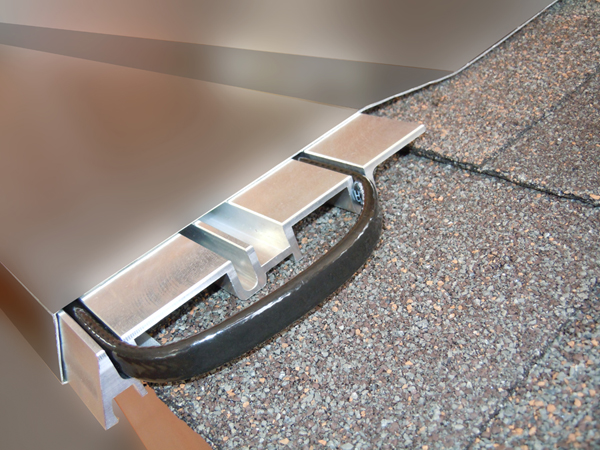 Summit Ice Melt System PRO prevents ice dams on shingle roofs