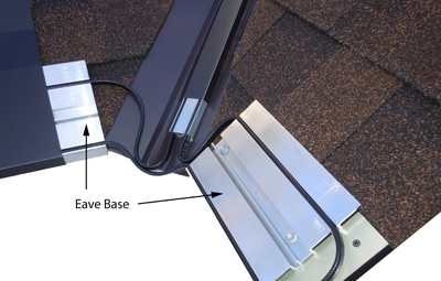 Stop ice dams from forming