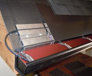 Heat the ice emlt system, gutters and downspouts for complete protection